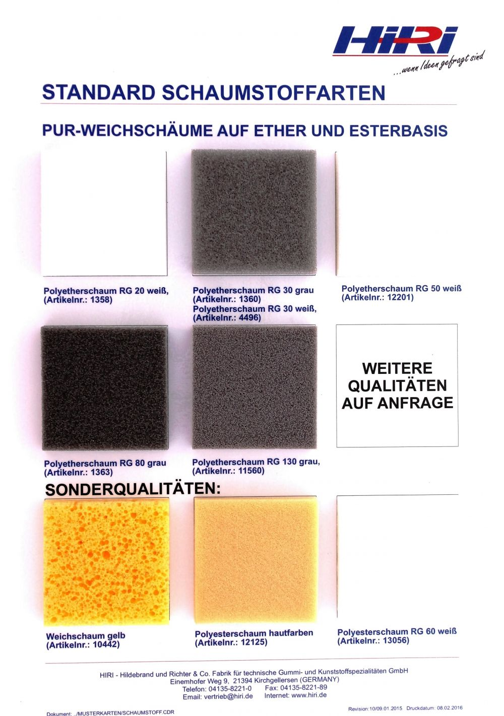 pur weichschaum schaumstoff auf polyether und polyester basis hiri. Black Bedroom Furniture Sets. Home Design Ideas